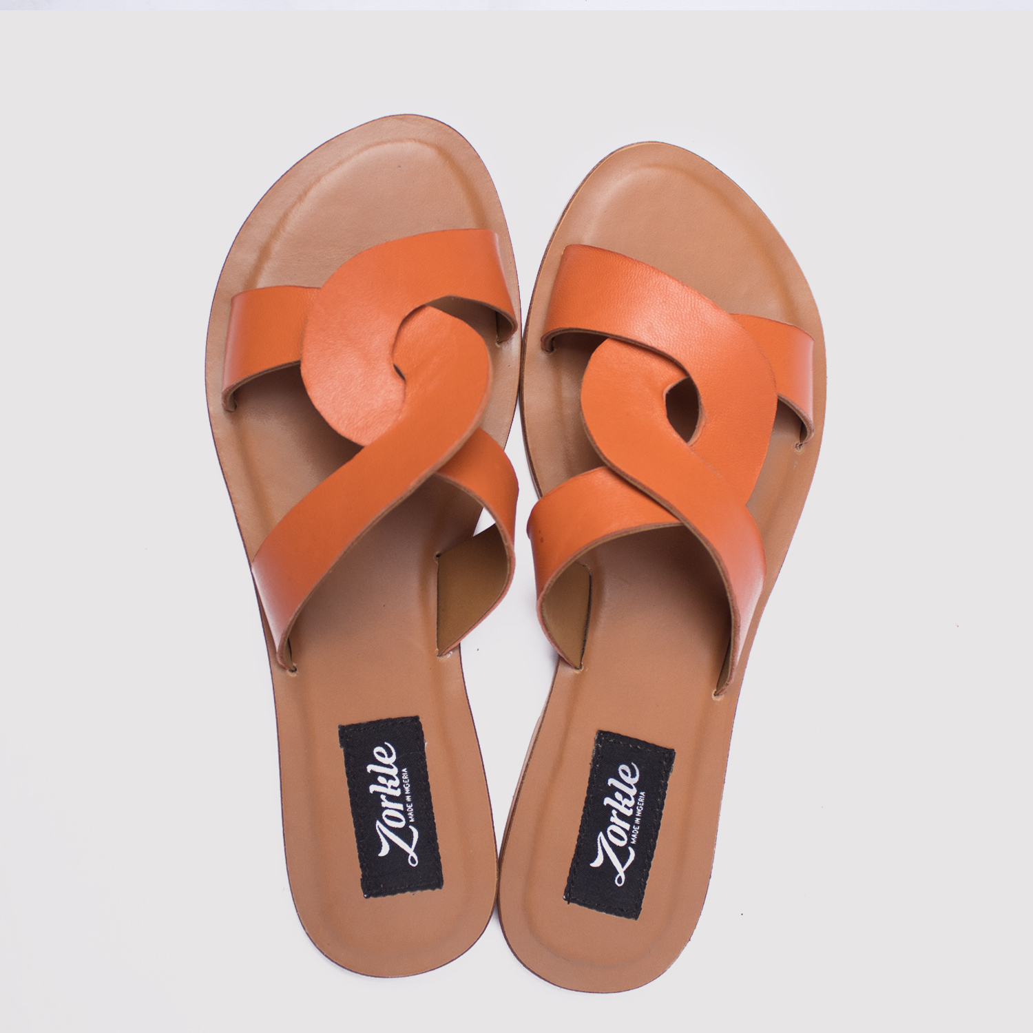 db6c7b1670bd ... CeeCee slippers brown leather zorkle shoes in lagos nigeria