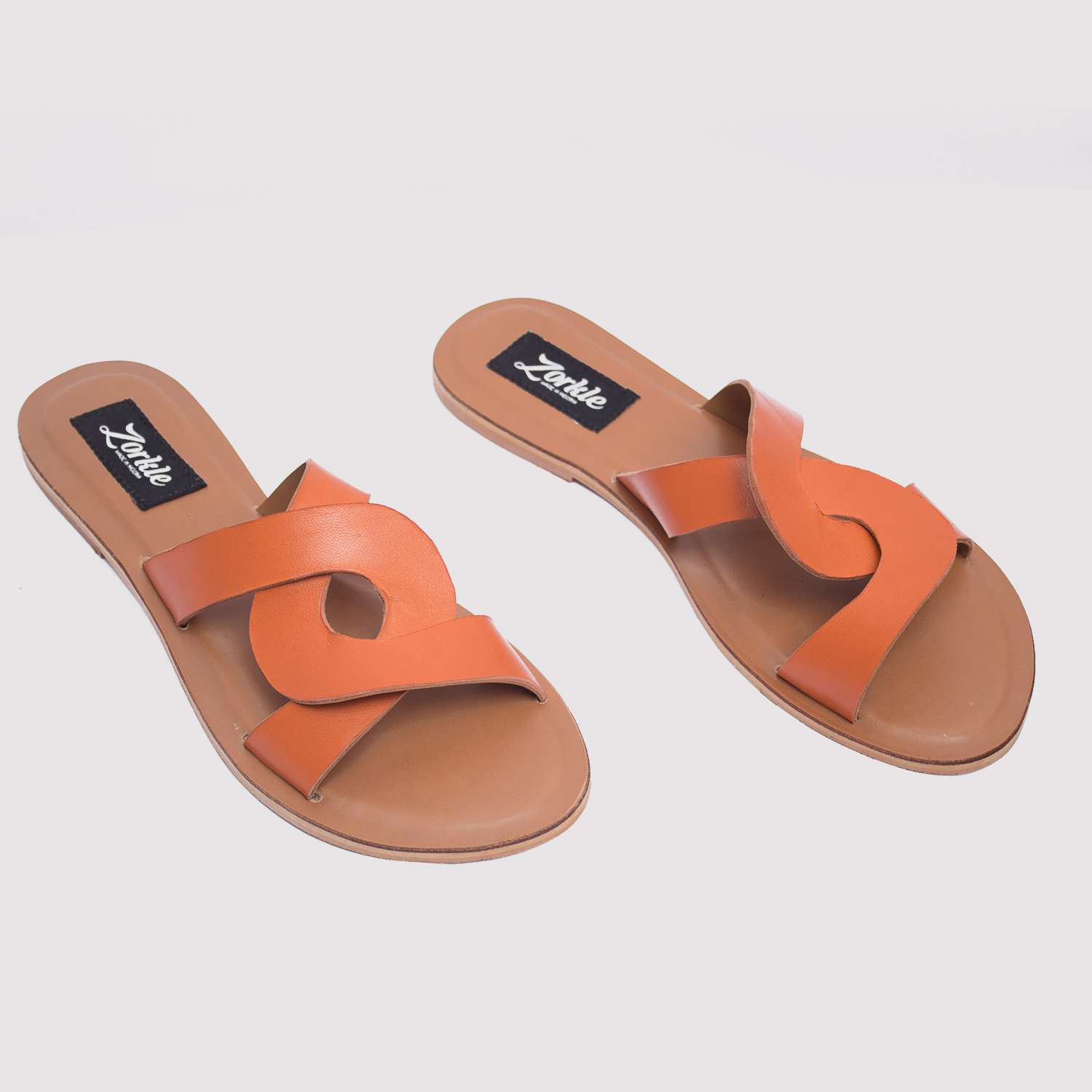 083ddf0e3aa1 CeeCee slippers brown leather zorkle shoes in lagos nigeria ...