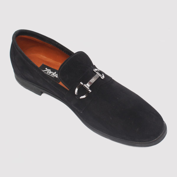 Tosh Shoes Black Suede ZMS080 - Zorkle Shoes