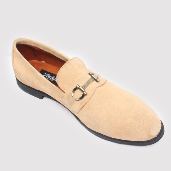 Tosh Shoes White Suede ZMS082 - Zorkle Shoes