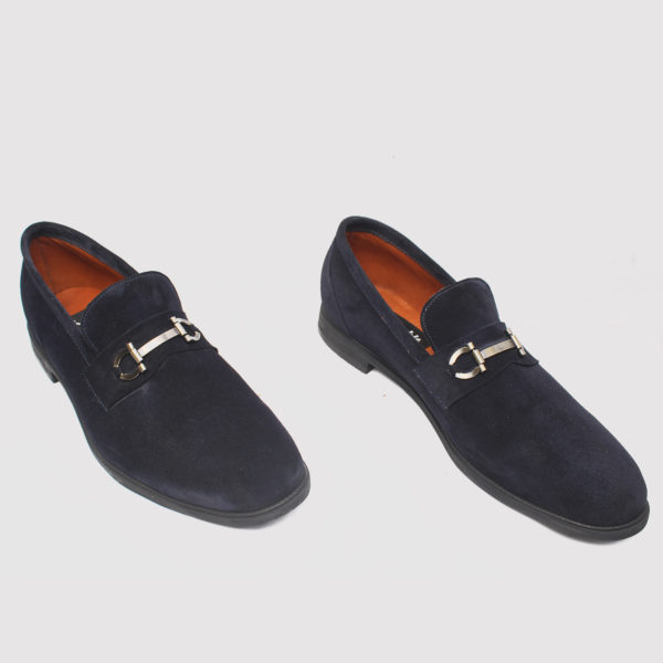 Tosh Shoes Blue Suede ZMS081 - Zorkle Shoes