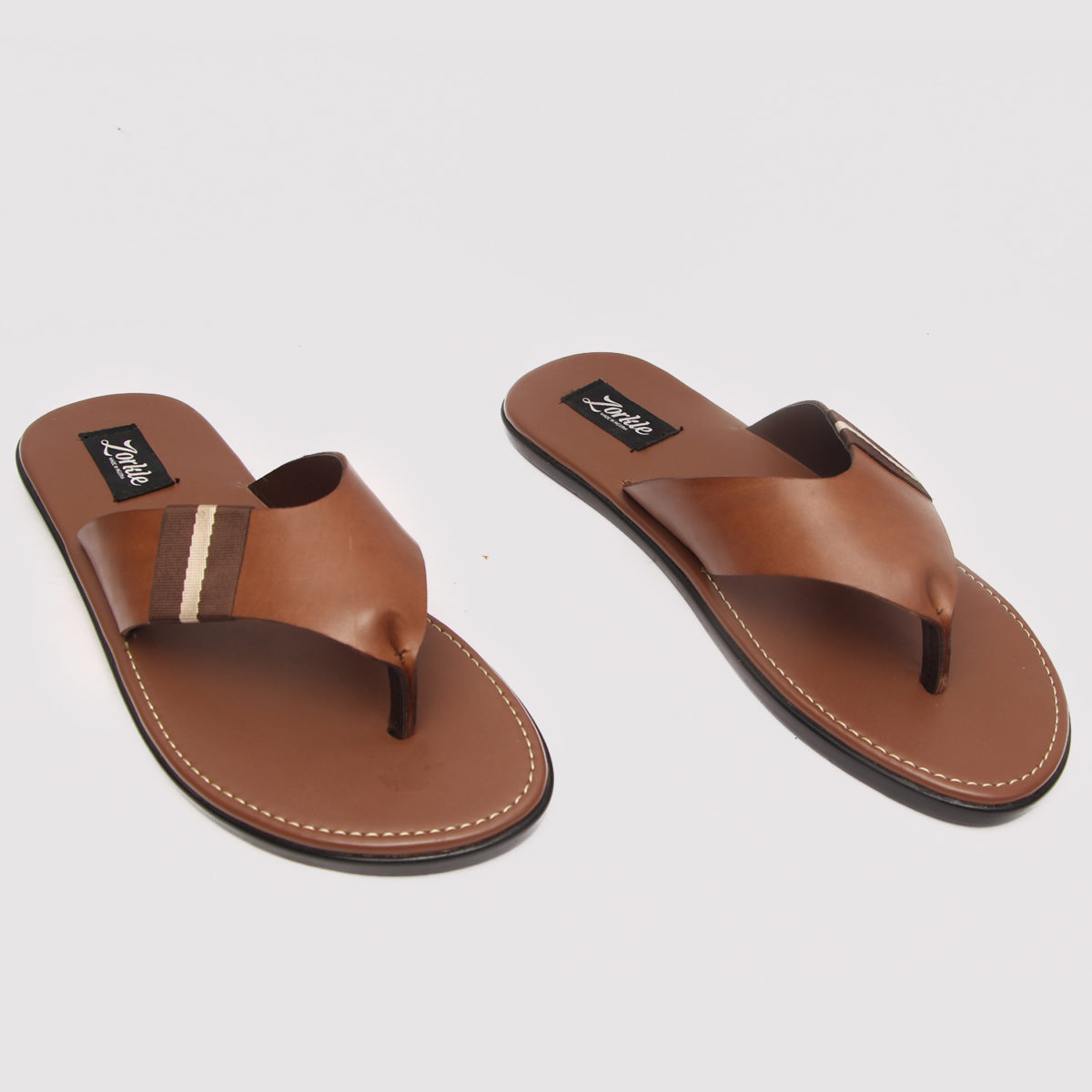 Baloma Slippers Brown Leather ZMP075 - Zorkles Shoes