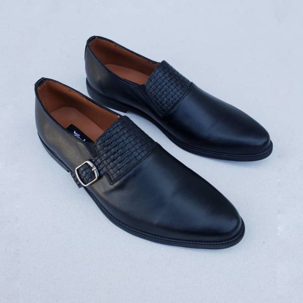 Akan Loafers Black Leather