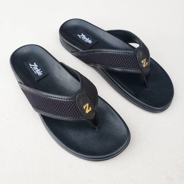 Bash Slippers Black ZMP110 - Zorkle Shoes