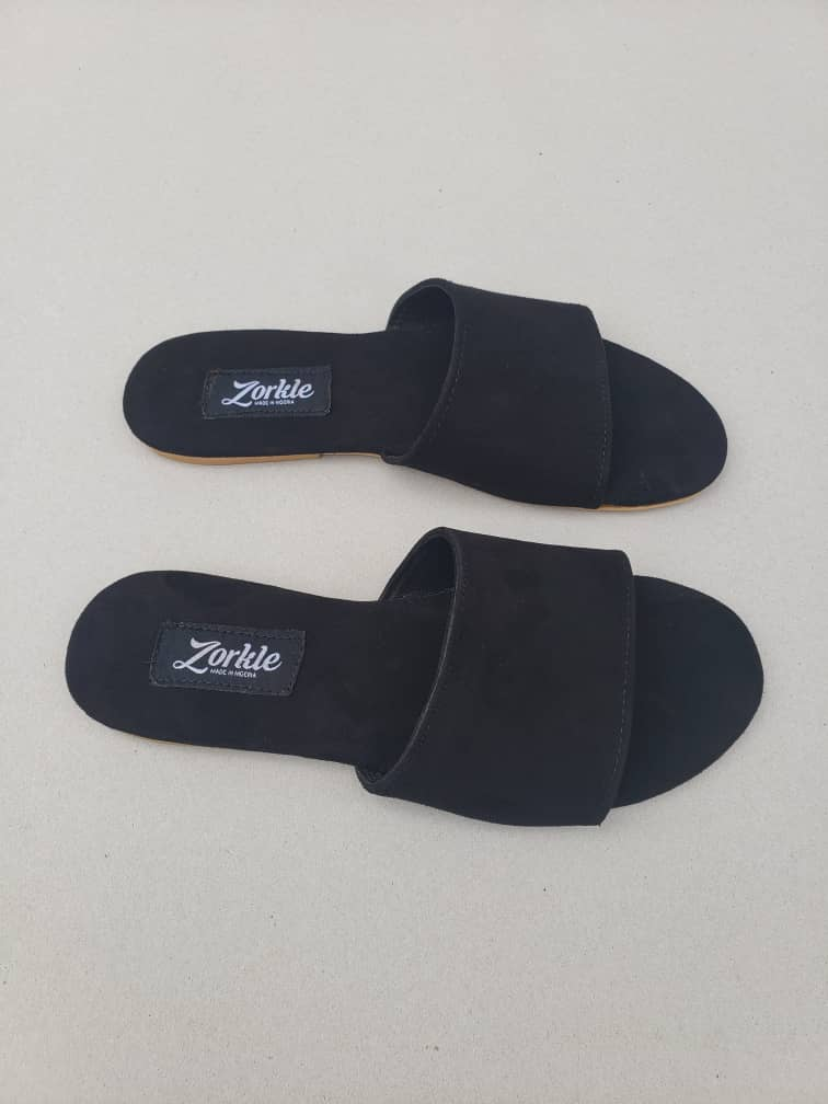 Robin Slippers Wine Suede ZFP068 - zorkle shoes
