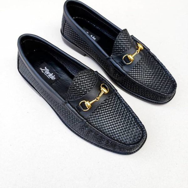 Gaf Horsebit loafers Black leather ZMS094 - Zorkle Shoes