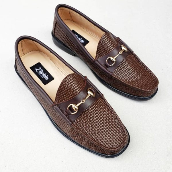 Gaf Horsebit loafers Brown leather ZMS096 - Zorkle Shoes