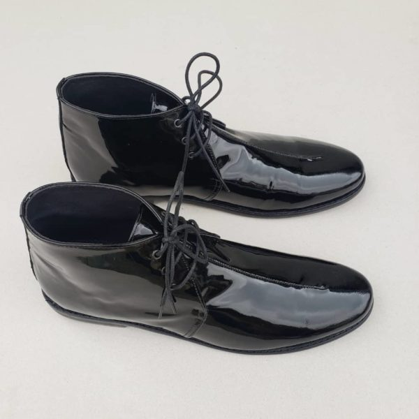 Chukka Chukka Boots Black Patent ZMB025 - Zorkle ShoesBoots Black Patent ZMB018 - Zorkle Shoes