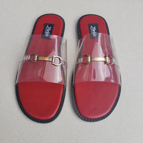 Nero Horse Bit Slippers Vinyl ZMP118 - Zorkle Shoes