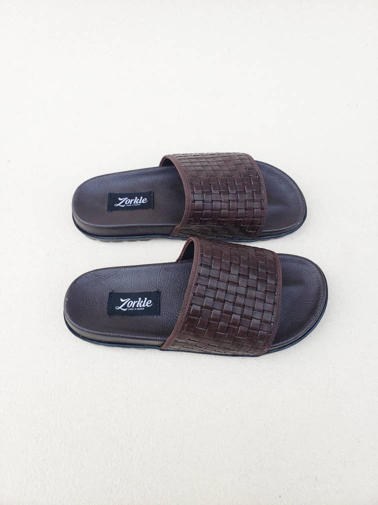 Borlu Slippers Black ZMP125 - Zorkle Shoes