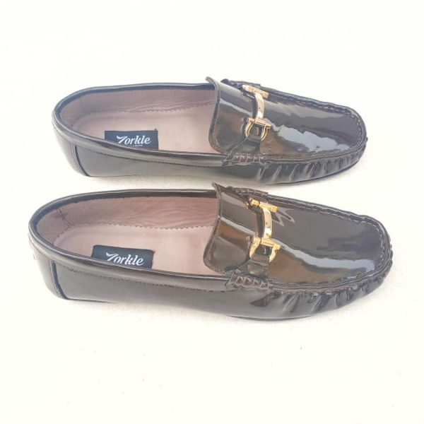 Fegz Loafers Brown Leather ZMS124 - Zorkle Shoes