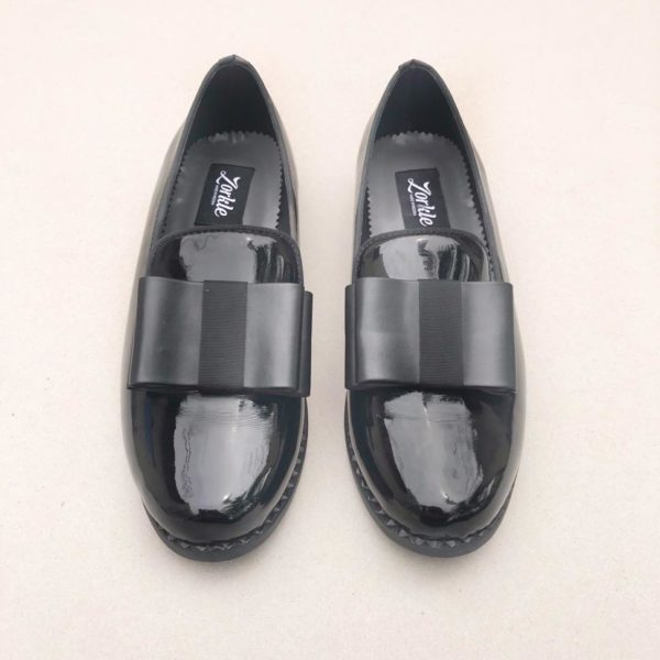 Larah Black Patent Shoe ZFP079