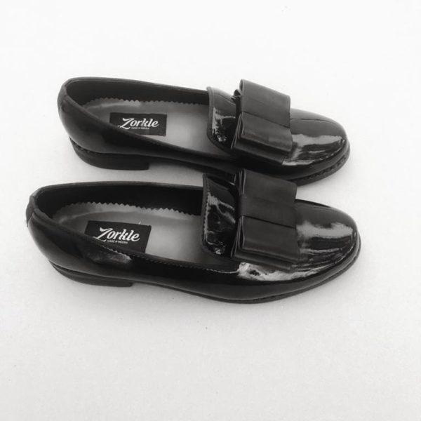 Larah Black Patent Shoe ZFPS001-zorkleshoes