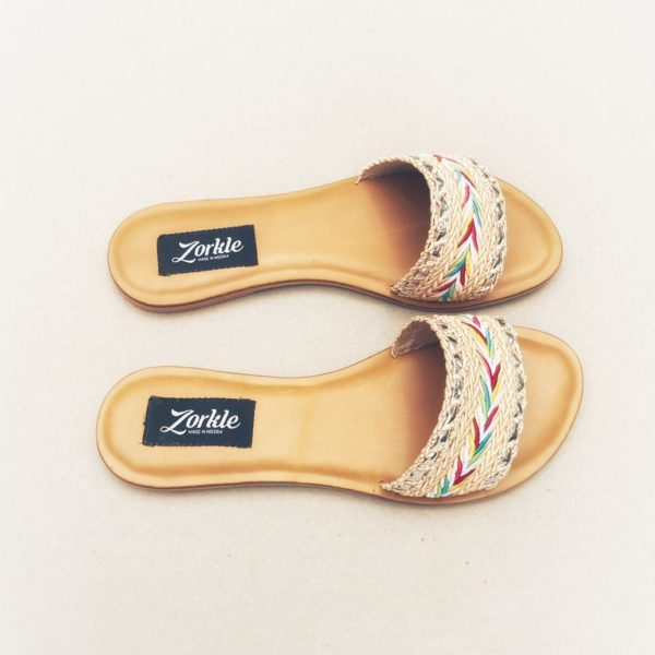 Quidi Fabric Slippers ZFP078 - zorkle shoes