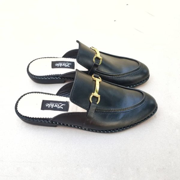 Toyor Black Mules