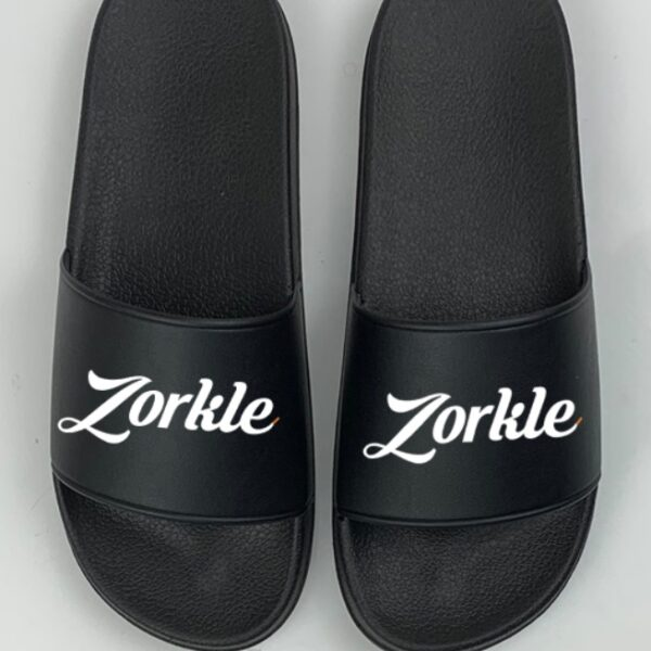 Bazato Slides All Black ZFP085- zorkle shoes
