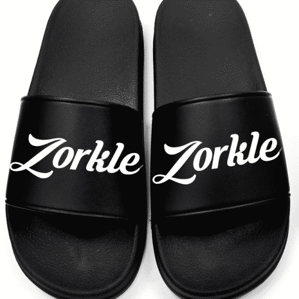 Bazato slides All Black ZMP128 - Zorkle Shoes