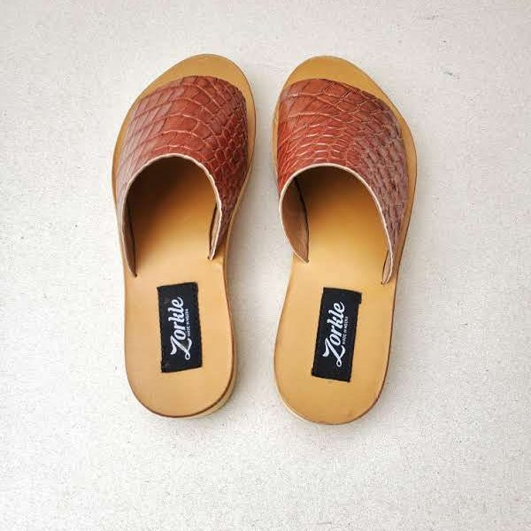 Amanda Slippers Brown ZFP085- zorkle shoes