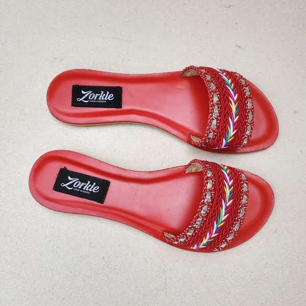 Quidi Slippers Red ZFP087- zorkle shoes