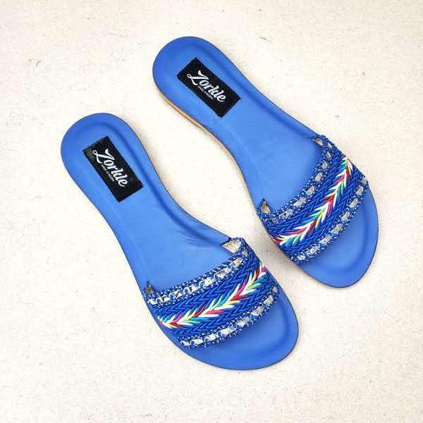 Quidi Slippers Blue ZFP088- zorkle shoes