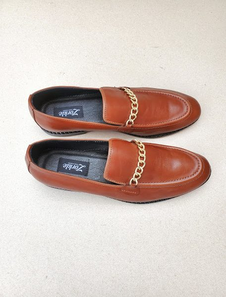 Dero Brown Loafers ZMS129 - Zorkle Shoes