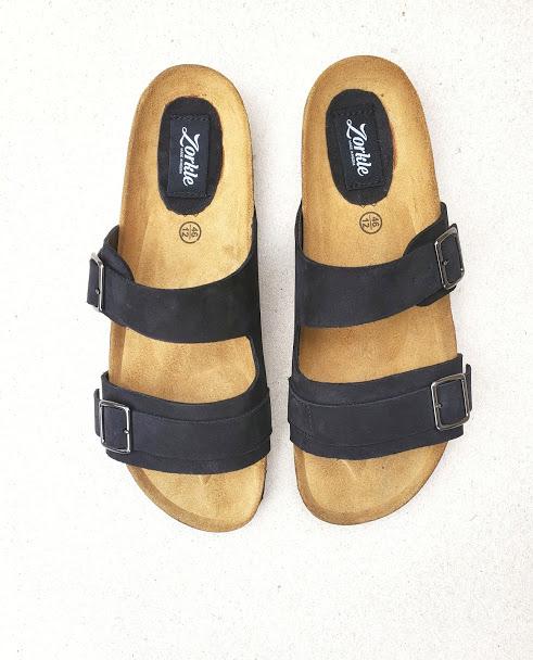 Derin Slippers Black ZMP142 - Zorkle Shoes