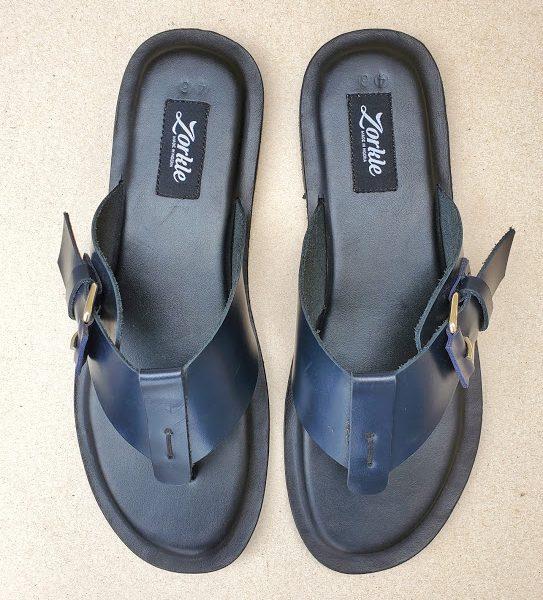 Randos Slippers Blue ZMP146 - Zorkle Shoes