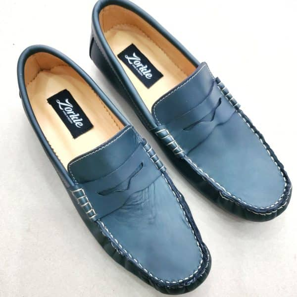 Tade Loafers Green ZMS136 - Zorkle Shoes